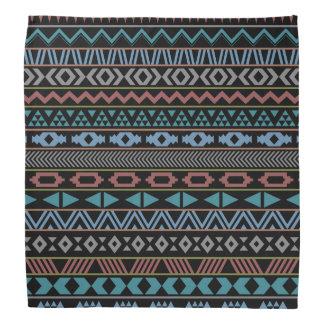 Tribal Pattern Dark Bandana