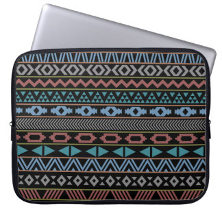 Tribal Pattern Dark Laptop Sleeves