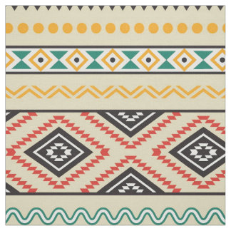 Tribal pattern fabric