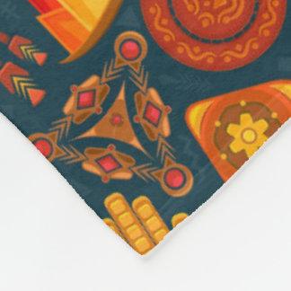 Tribal Pattern Fleece Blanket