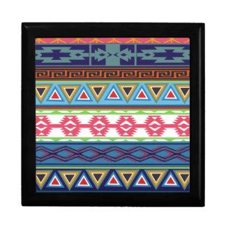 Tribal Pattern Gift Box