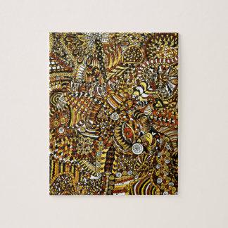 Tribal Pattern Jigsaw Puzzle