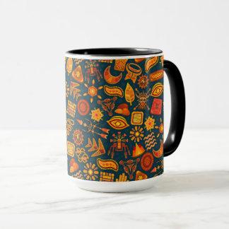 Tribal Pattern Mug