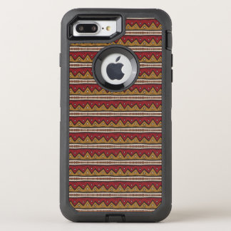 Tribal pattern OtterBox defender iPhone 8 plus/7 plus case
