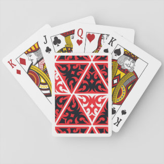 Tribal Pattern Playing Cards