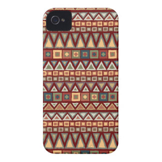 Tribal Pattern Red Blackberry Bold Case