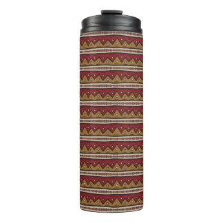 Tribal pattern thermal tumbler