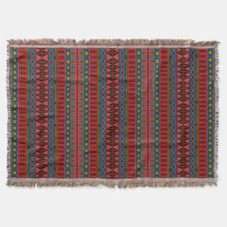 Tribal Pattern Throw Blanket