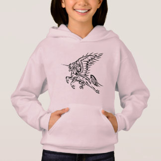 Tribal Pegasus-Unicorn Hoodie