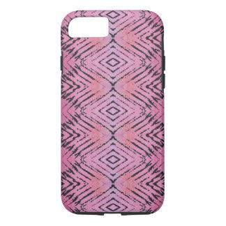 Tribal Pink Diamond Pattern iPhone 7 Case