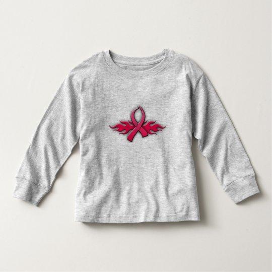 Tribal Pink Ribbon Toddler T-Shirt