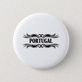 Tribal Portugal 6 Cm Round Badge