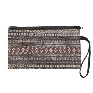 Tribal Print Handbag Wristlets