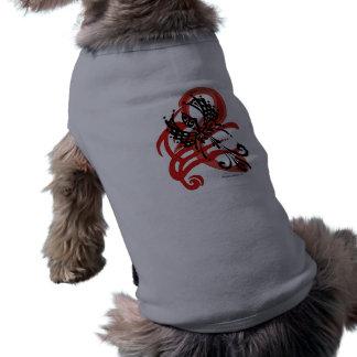 Tribal Raven Pet Cloths Shirt