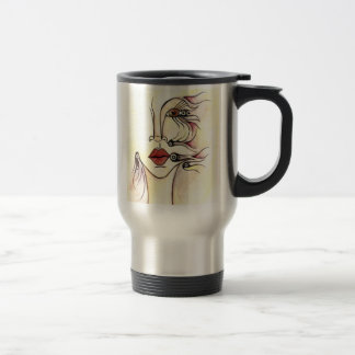 Tribal Robot Travel Mug