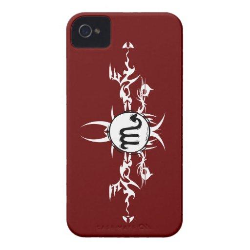 Tribal Scorpio Blackberry Case