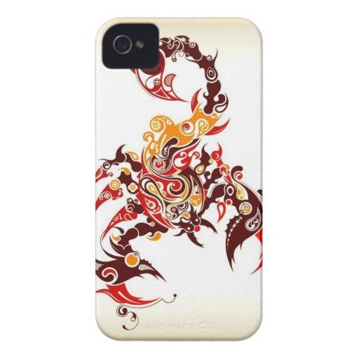 Tribal Scorpion Blackberry Cases