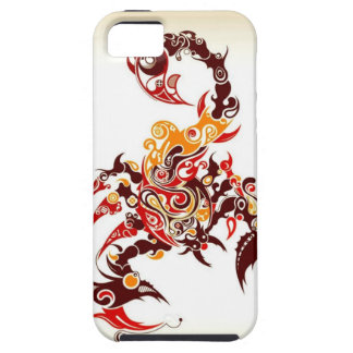 Tribal Scorpion Tough iPhone 5 Case