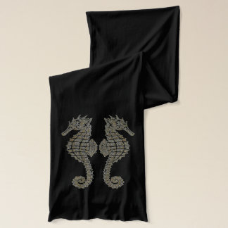 Tribal Seahorses Scarf
