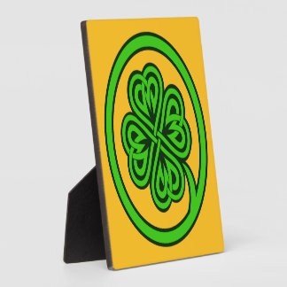 Tribal Shamrock plaque