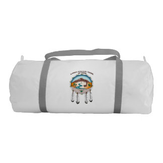 Tribal Shield Gym Duffle Bag