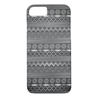 Tribal silver grey pattern iPhone 8/7 case