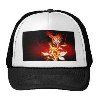 Tribal Skull Mesh Hat