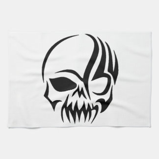 Tribal Skull Kitchen Towel