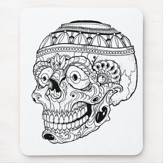 Tribal Skull Mouse Mat