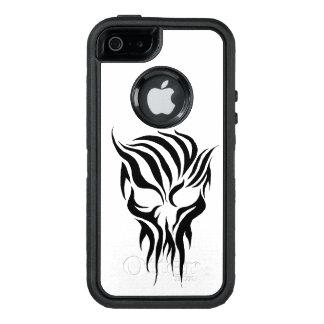Tribal Skull OtterBox Defender iPhone Case