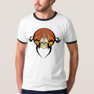 Tribal Skull Tattoo T-Shirt