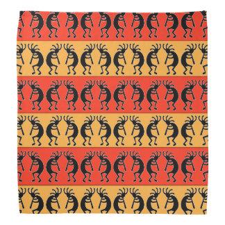 Tribal Southwest Design Kokopelli Bandanna