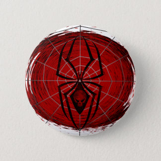Tribal Spider 6 Cm Round Badge