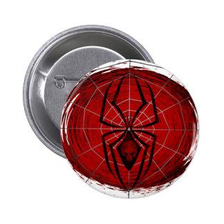 Tribal Spider 6 Cm Round Badge
