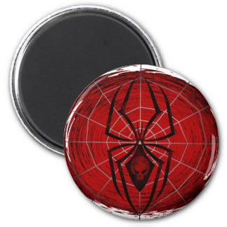 Tribal Spider 6 Cm Round Magnet