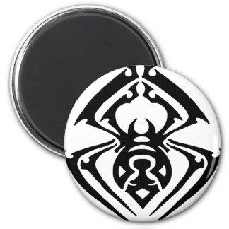 Tribal Spider Tattoo 6 Cm Round Magnet
