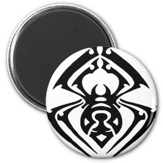 Tribal Spider Tattoo Magnet