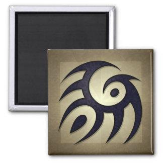 Tribal Spirit Square Magnet