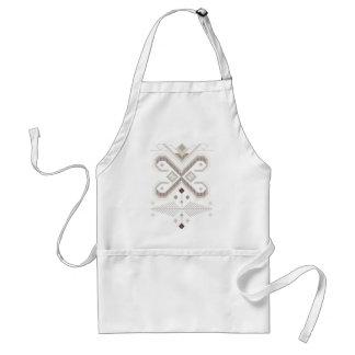 tribal standard apron