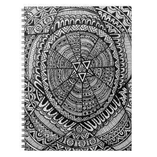 Tribal Star Spiral Notebook