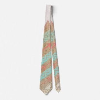 Tribal Stripe Arrow Pattern Tie