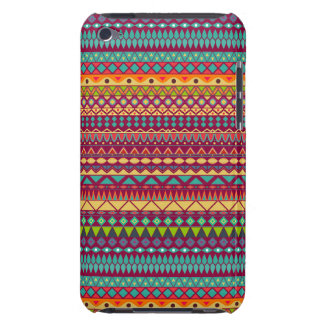 Tribal striped abstract pattern design barely there iPod cases