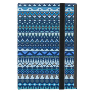 Tribal striped abstract pattern design iPad mini cover
