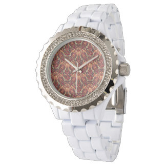 Tribal striped abstract pattern design wrist watches