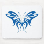 Tribal Style Butterfly Mouse Pad