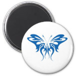 Tribal Style Butterfly Refrigerator Magnet