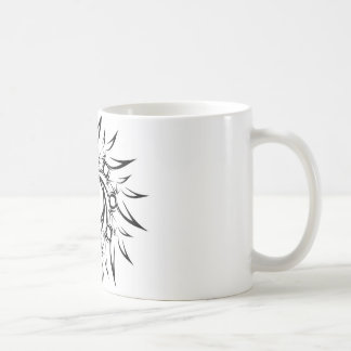 Tribal Sun Basic White Mug