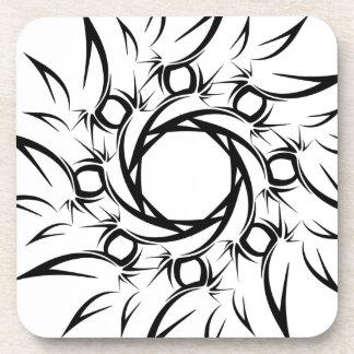 Tribal Sun Coasters