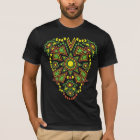 Tribal Sun Double Side Bright Print T-Shirt