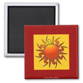 Tribal Sun Magnet